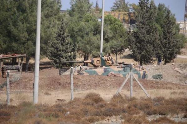 ساخت سومین مرکز نظامی ترکیه در استان ادلب سوریه