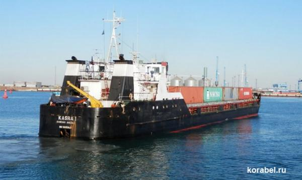 Iranian cargo ship dragged anchor, drifted to shore, Caspian sea