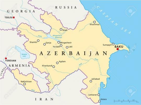 مزارع چای جمهوری آذربایجان در مرزهای ایران