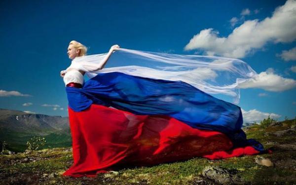 Красота девушек в русском стиле