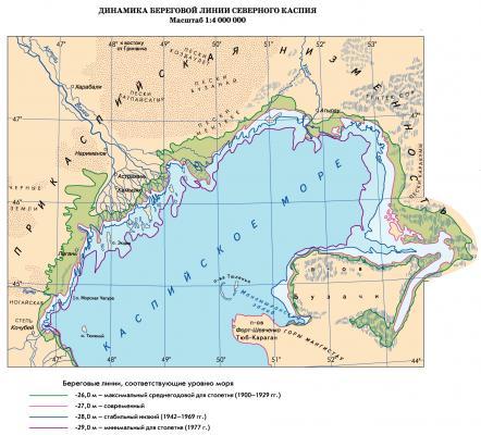 Водосборный Бассейн Каспийского Моря