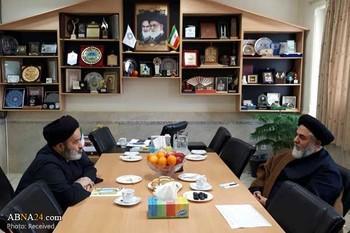 بازدید نماینده رهبر معظم انقلاب در جمهوری آذربایجان از دانشگاه ادیان و مذاهب