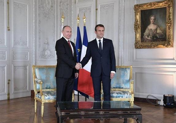 سایه برجام بر دیدار پوتین و ماکرون در روسیه