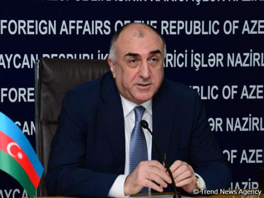 Azerbaijani FM: First meeting on Caspian Sea status to be held in Baku