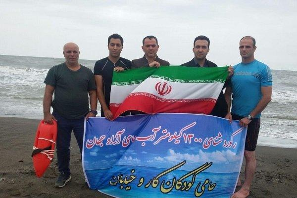 Epic journey across Caspian Sea to break world record