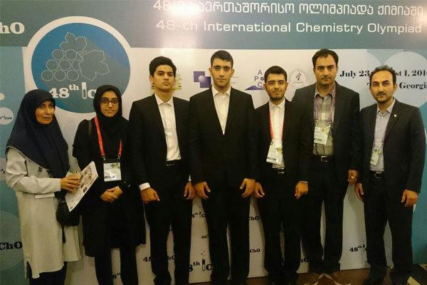 Iran ranks 6th in Intl. Chemistry Olympiad