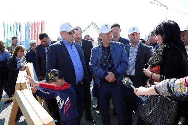 Абдусамад Гамидов принял участие в фестивале «Каспийская рыба»