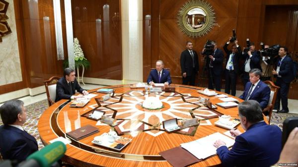 Five Central Asian Leaders Discuss Aral Sea In Turkmenistan