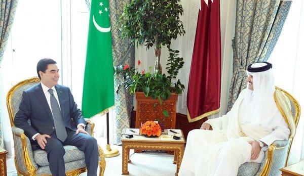Президент Туркменистана в ходе визита в Доху пригласил Катар инвестировать в газопровод ТАПИ