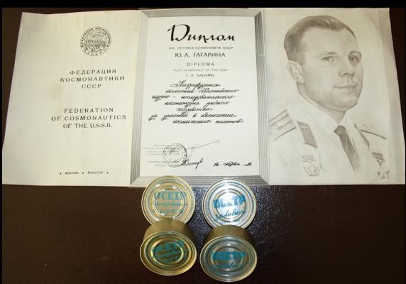 Астраханские рыбные консервы стали первыми рыбопродуктами на космическом корабле
