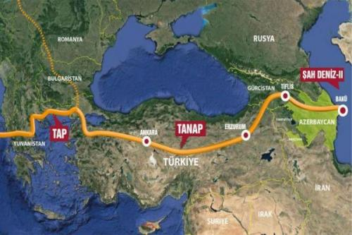 Caspian Sea oil and gas transmission projects - threat or opportunity